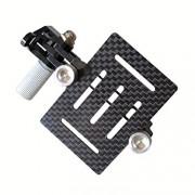 Eggsnow-GoPro-Hero-4-Hero-3-Hero-3-Anti-Vibration-Anti-Jello-Vibration-Dampener-Carbon-Fiber-Plate-Mount-for-DJI-Phantom-Black-0-1