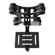Eggsnow-GoPro-Hero-4-Hero-3-Hero-3-Anti-Vibration-Anti-Jello-Vibration-Dampener-Carbon-Fiber-Plate-Mount-for-DJI-Phantom-Black-0-2