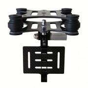 Eggsnow-GoPro-Hero-4-Hero-3-Hero-3-Anti-Vibration-Anti-Jello-Vibration-Dampener-Carbon-Fiber-Plate-Mount-for-DJI-Phantom-Black-0-3