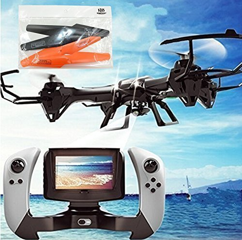 HB-HOMEBOAT-U818S-Large-6-Axis-Gyroscope-RC-Quadcopter-Drone-Black-Color-with-FPV-Camera-WIFI-818-Real-Time-FPV-Remote-Control-0-6