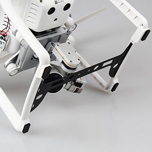Mudder-Landing-Guard-Plate-Lightweight-Carbon-Fiber-Camera-Guard-Protector-Parts-for-DJI-Phantom-3-and-Gimbal-Camera-0