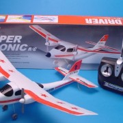 RADIO-CONTROLLED-AEROPLANE-RC-AIRCRAFT-RADIO-REMOTE-SONIC-PLANE-ELECTRIC-GLIDER-0