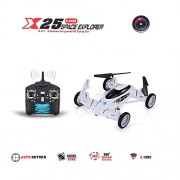 SY-X25-4CH-6-Axis-Gyro-Air-Gronud-RC-Flying-Car-with-20MP-Camera-360-Degree-Flips-Auto-Return-Function-and-Extra-Solar-Cockroach-0-6