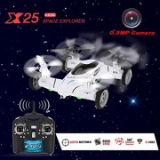 SY-X25-4CH-6-Axis-Gyro-Air-Gronud-RC-Flying-Car-with-20MP-Camera-360-Degree-Flips-Auto-Return-Function-and-Extra-Solar-Cockroach-0-7