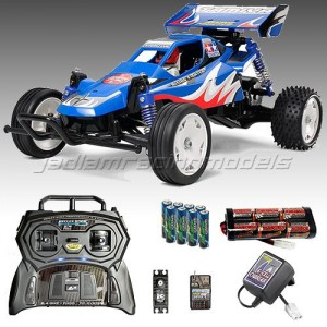 TAMIYA-Rising-Fighter-Buggy-RC-Car-Deal-Bundle-Radio-Battery-Charger-58416-0