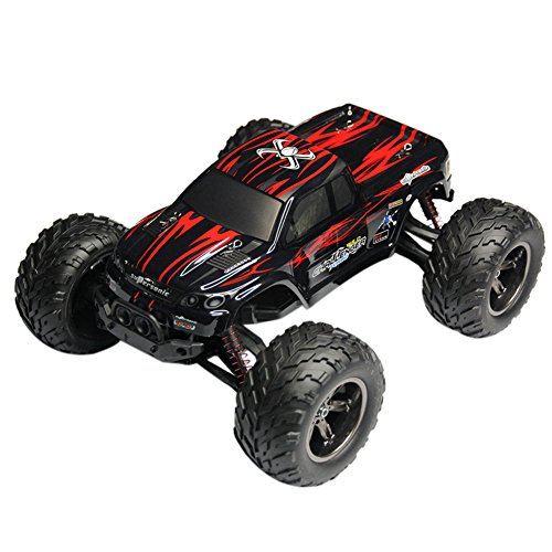 Teckey112-Off-Road-2WD-RC-Remote-Controlled-Monster-Truck-Rock-Crawler-Truggy-Vehicle-Waterproof-Assembled-24GHz-Digital-Fully-Proportional-Control-Top-Speed-Up-45-kmh-Complete-Set-RTR-0