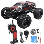 Visionlight-RC-CARS-30MPH-112-Scale-RTR-Remote-control-Brushed-Monster-RC-Vehicle-Truck-Off-road-Car-Big-Foot-2WD-W24G-Red-0