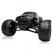 Visionlight-RC-CARS-30MPH-112-Scale-RTR-Remote-control-Brushed-Monster-RC-Vehicle-Truck-Off-road-Car-Big-Foot-2WD-W24G-Red-0-2