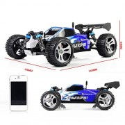 YIMAN-RC-Remote-Control-Car-High-Speed-with-4WD-Shaft-Drive-Truck-Race-Off-road-Vehicle-Roadster-Toy-0-2