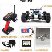 YIMAN-RC-Remote-Control-Car-High-Speed-with-4WD-Shaft-Drive-Truck-Race-Off-road-Vehicle-Roadster-Toy-0-4
