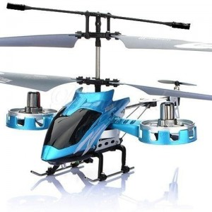 Ohuhu-Blue-AVATAR-4CH-24G-Metal-RC-Remote-Control-Helicopter-LED-Light-0
